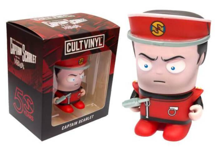 Captain Scarlet Cult Vinyl